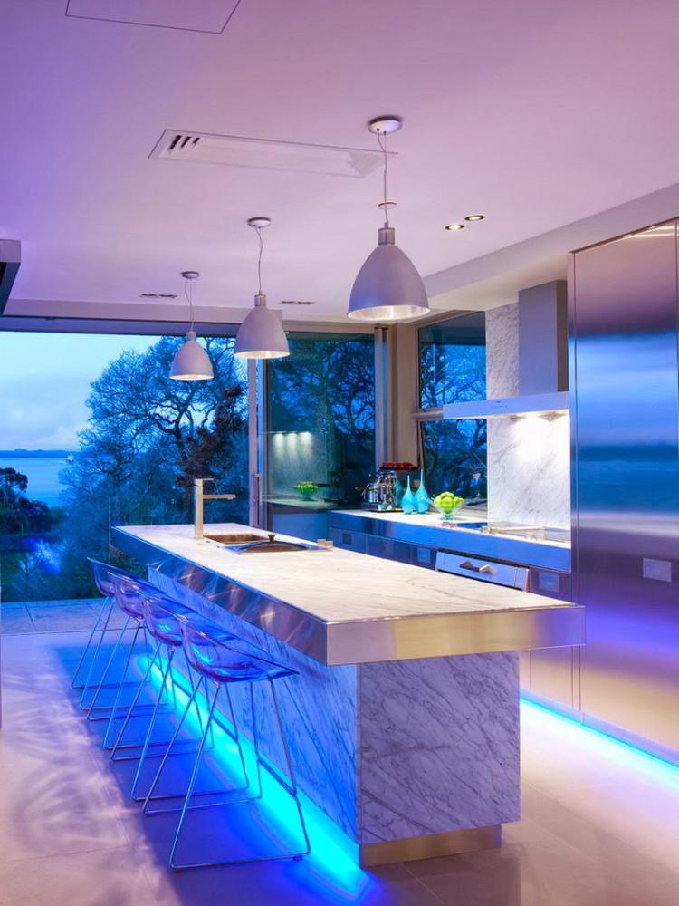 Роскошная современная кухня
