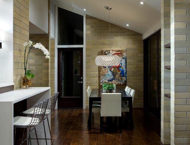 Дизайн интерьера кухни в стиле «модерн 50-х»