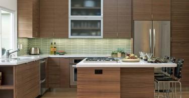 Дизайн интерьера кухни в стиле «модерн 50-х