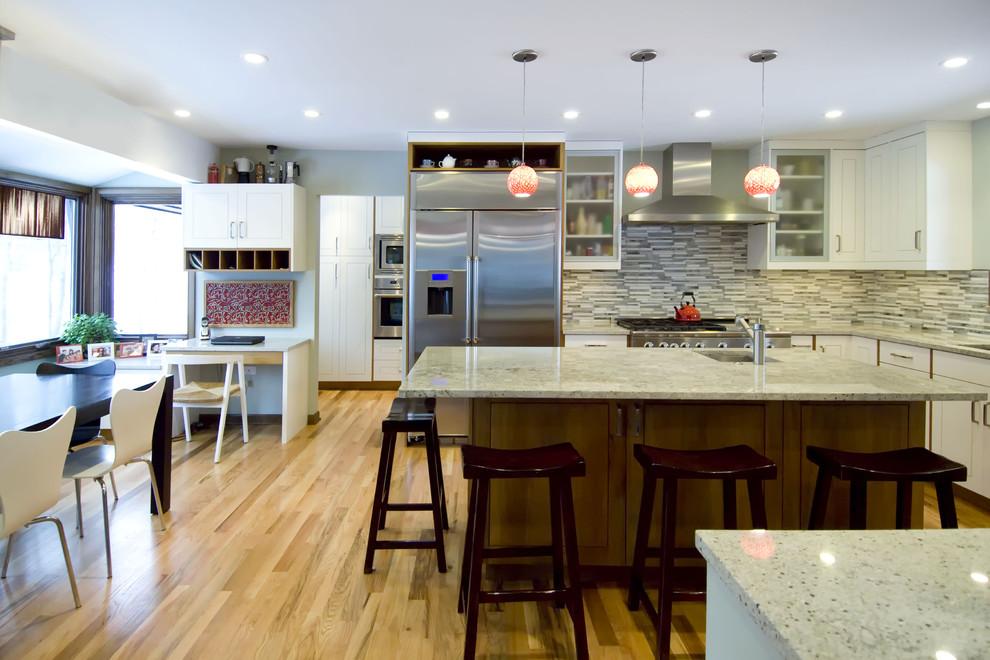 Дизайн интерьера кухни из натурального дерева от Rebekah Zaveloff | KitchenLab