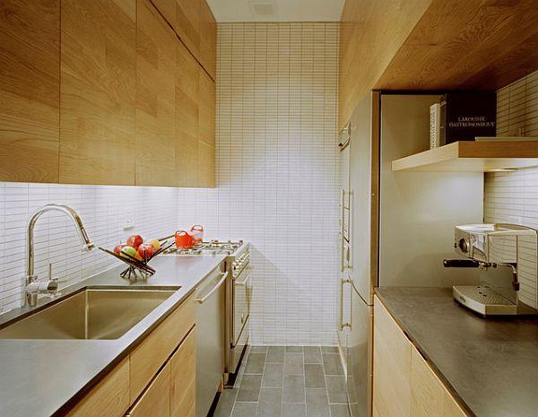 Небольшая кухня с современным дизайном