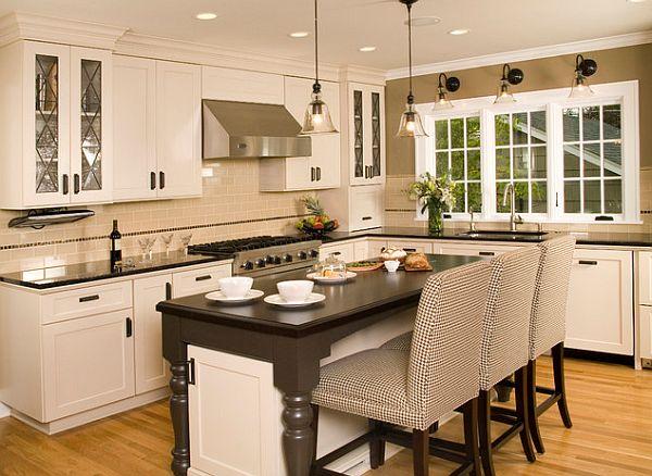 Стильный и традиционный вариант преобразования кулинарного пространства