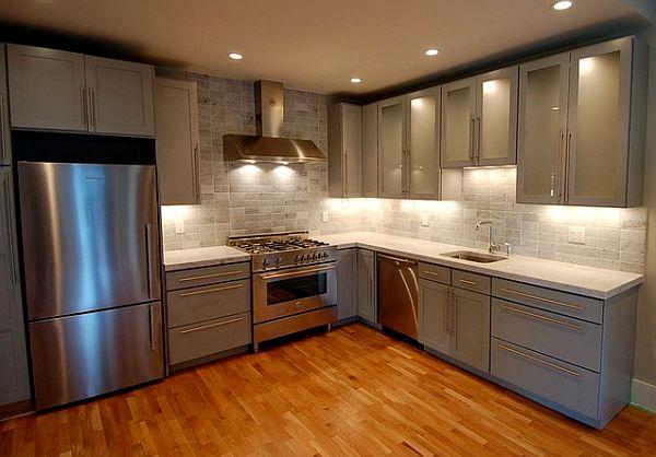 Стильная мебель и модный кухонный уголок