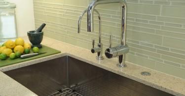 Дизайн раковины в интерьере кухни от KellyBaron