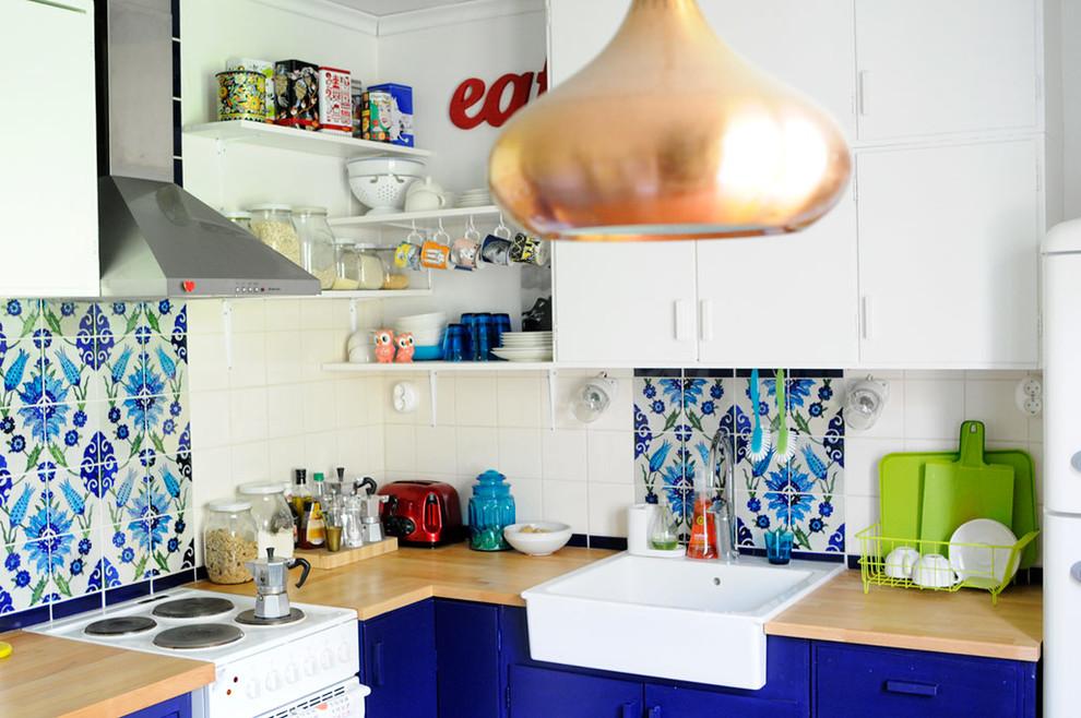 Дизайн раковины в интерьере кухни от Kootut murut