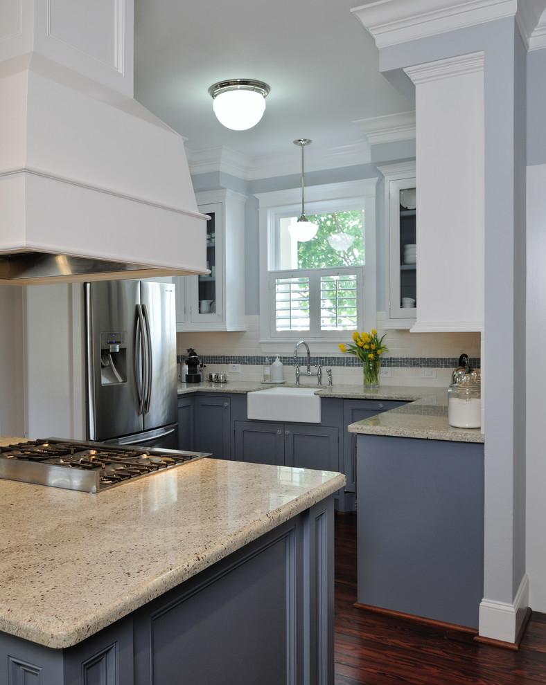 Эмалированная чугунная раковина в интерьере кухни от Carla Aston | Interior Designer