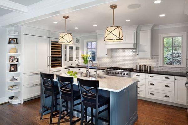 Керамическая плитка в интерьере кухни: стиль «метро»