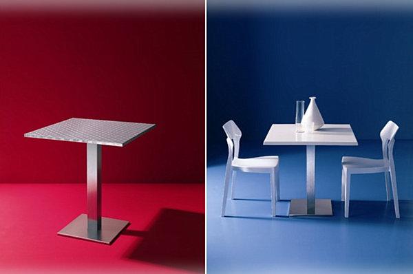 Современный и компактный столик для маленькой кухни