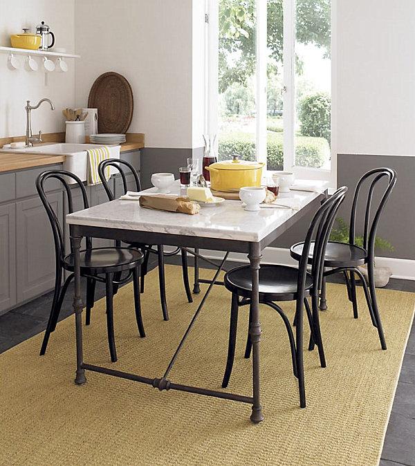 Кухонная мебель в стиле французского бистро