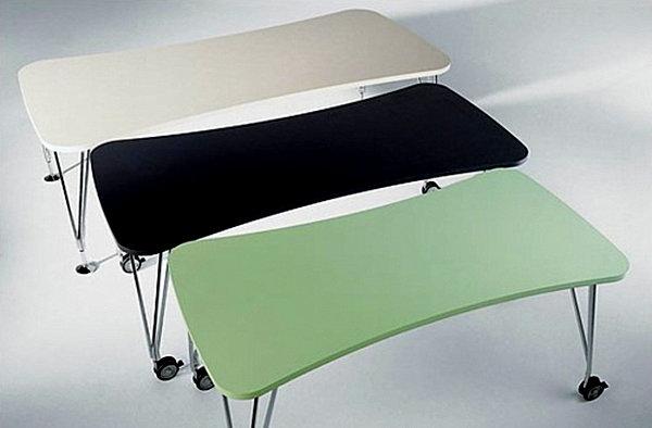 Столы для столовой на колесиках