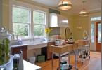 Оригинальный дизайн интерьера кухни в стиле ретро