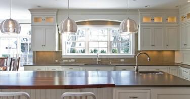 Стильное оформление кухонного окна от Jessica Williamson