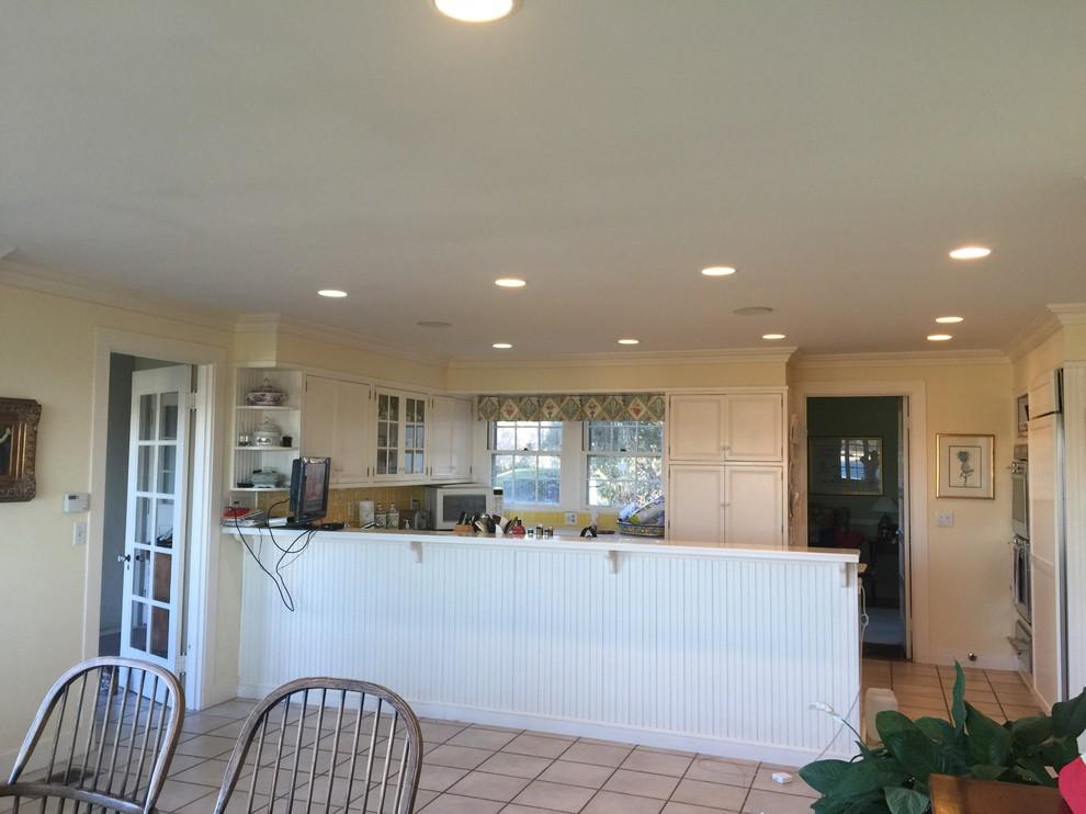 Классическая кухня до реконструкции