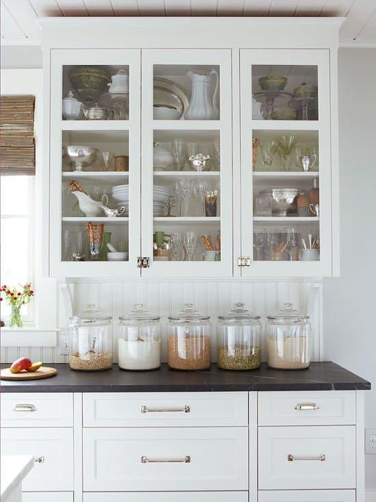Красивые кухонные фартуки из вагонки
