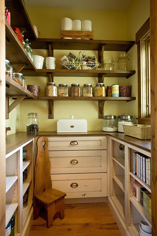 Дизайн кухня загородном доме