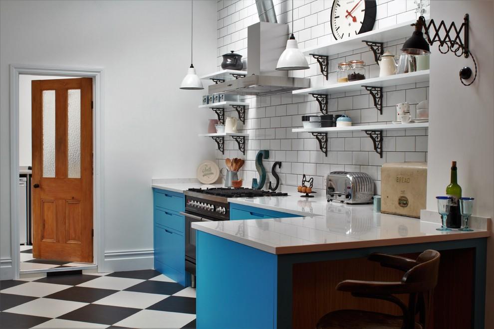 Кухня в американском стиле от Sustainable Kitchens