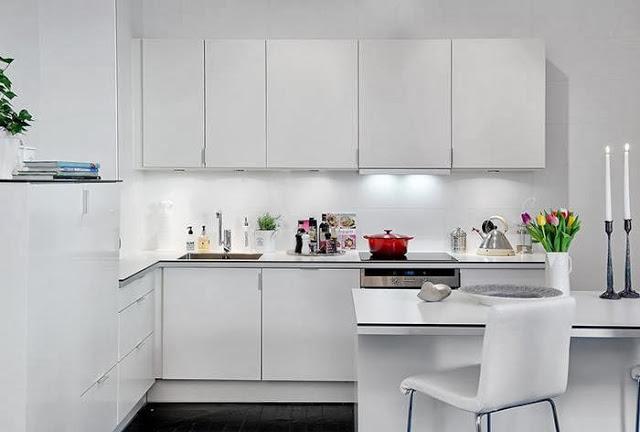 Интерьеры кухонь в скандинавском стиле