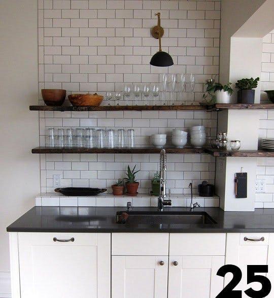 Кухня после ремонта своими руками от Кристин и Пьера, Монреаль