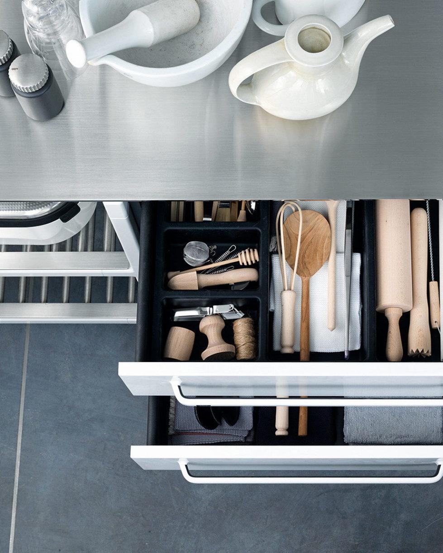Кухни из нержавеющей стали от Vipp - фото 9