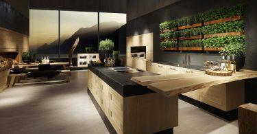 Кухни немецких производителей для интерьера в эко-стиле