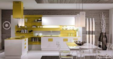 Минималистичные кухни scic с грамотной организацией пространства