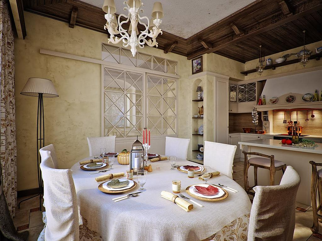 Кухни в стиле кантри - Фото 14