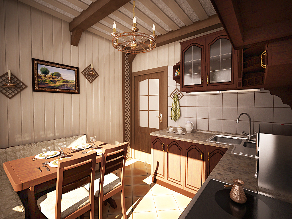 Кухни в стиле кантри - Фото 21