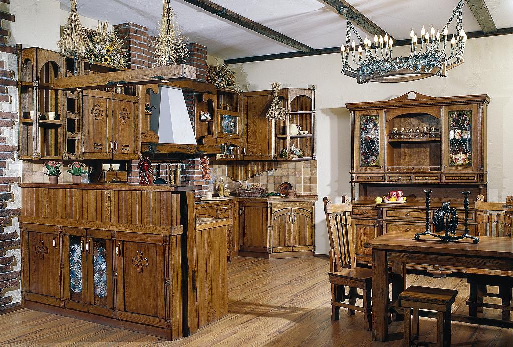 Кухни в стиле кантри - Фото 24