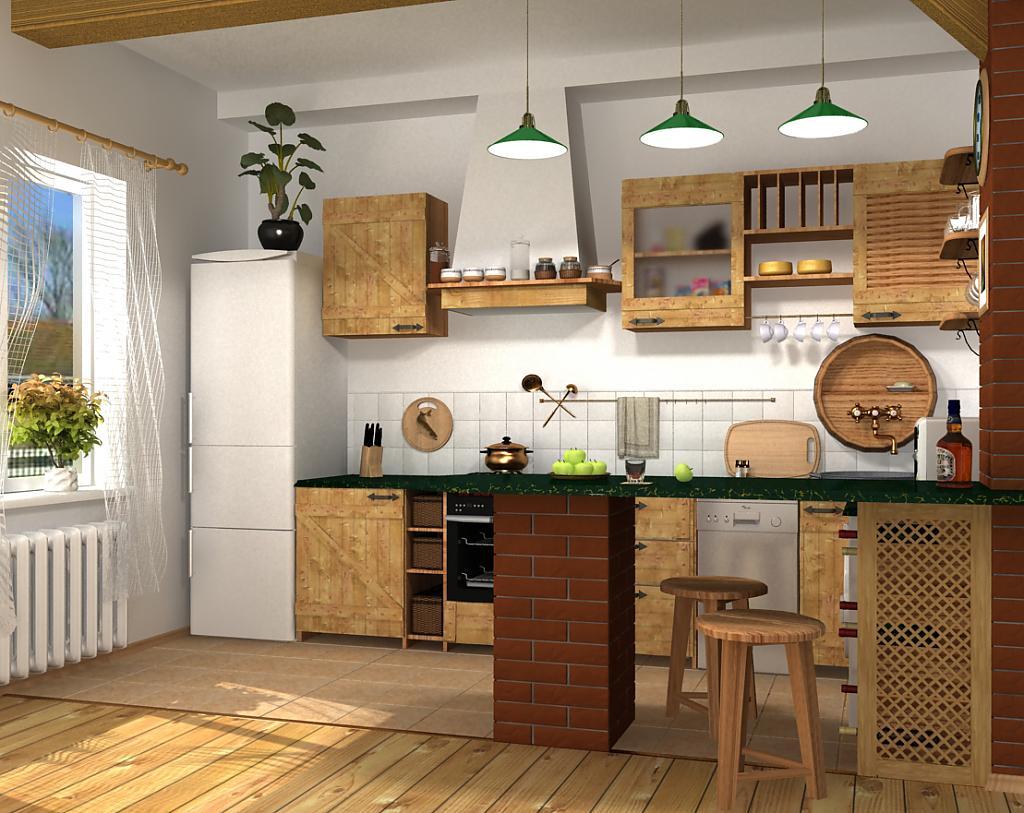 Кухни в стиле кантри - Фото 27
