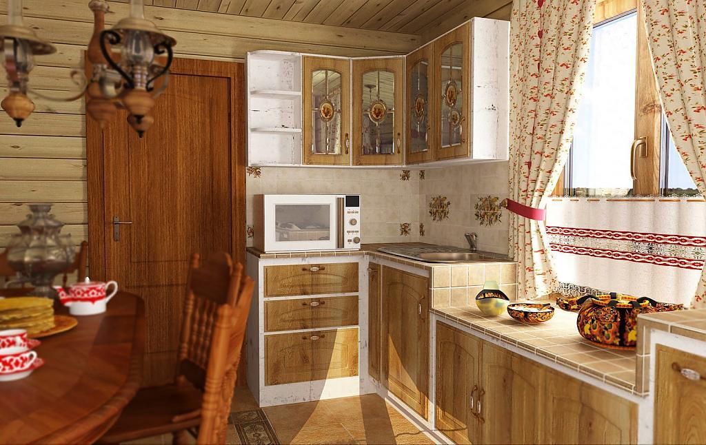 Кухни в стиле кантри - Фото 30