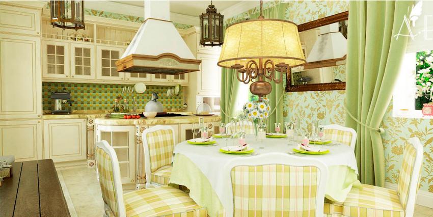Кухни в стиле кантри - Фото 31