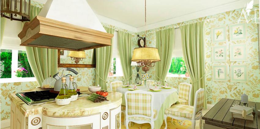 Кухни в стиле кантри - Фото 32