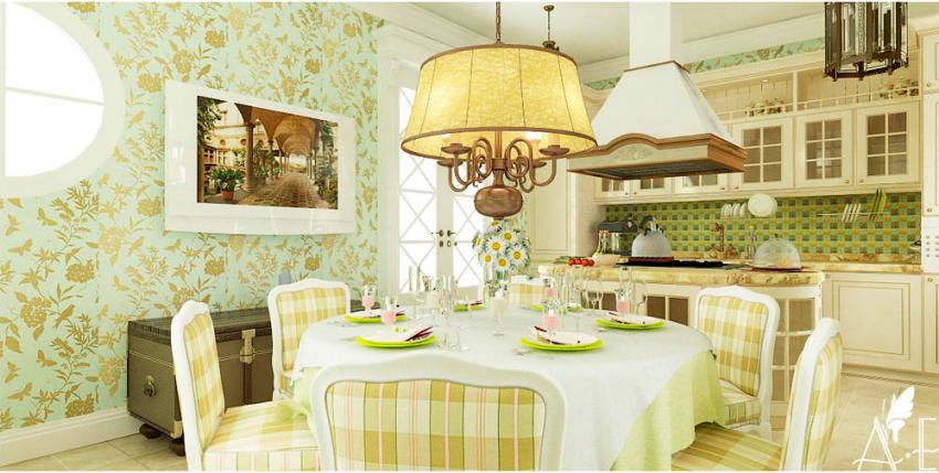 Кухни в стиле кантри - Фото 33