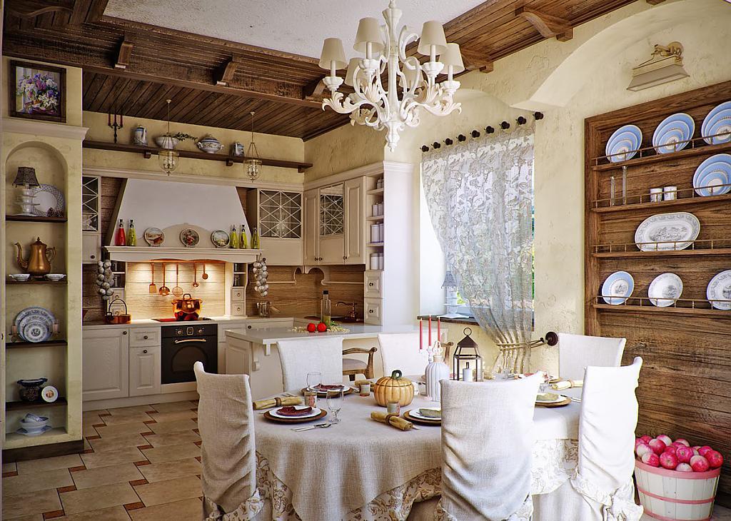 Кухни в стиле кантри - Фото 34