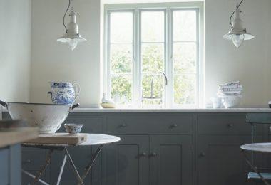 Кухня белая и серая - отличное сочетание цветов