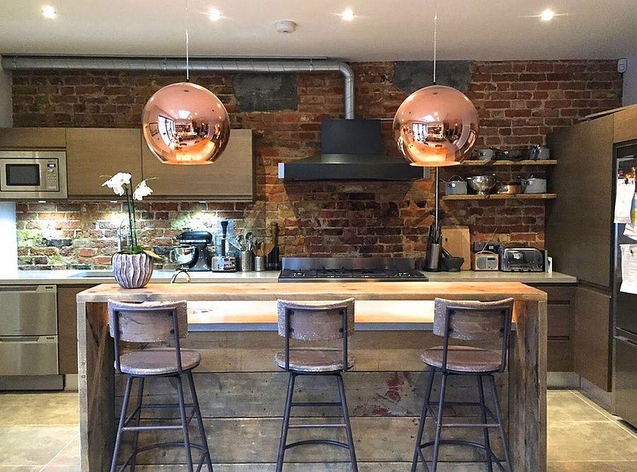 Кухня в индустриальном стиле - Фото 1