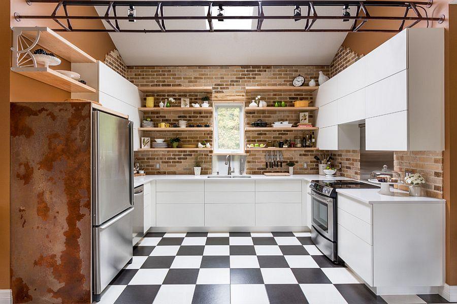 Кухня в индустриальном стиле - Фото 5