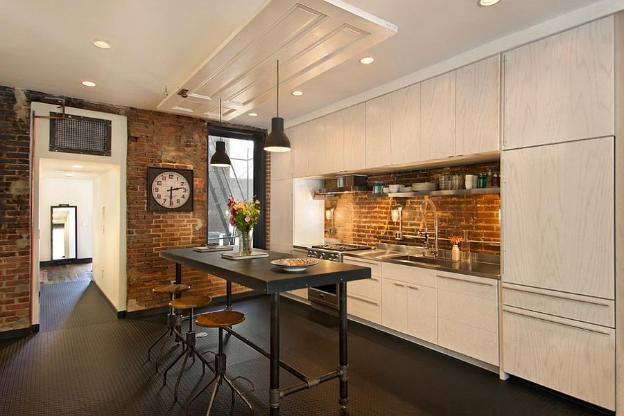 Кухня в индустриальном стиле - Фото 6
