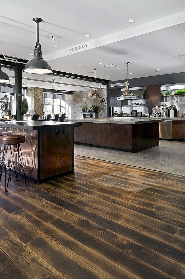 Кухня в индустриальном стиле - Фото 7