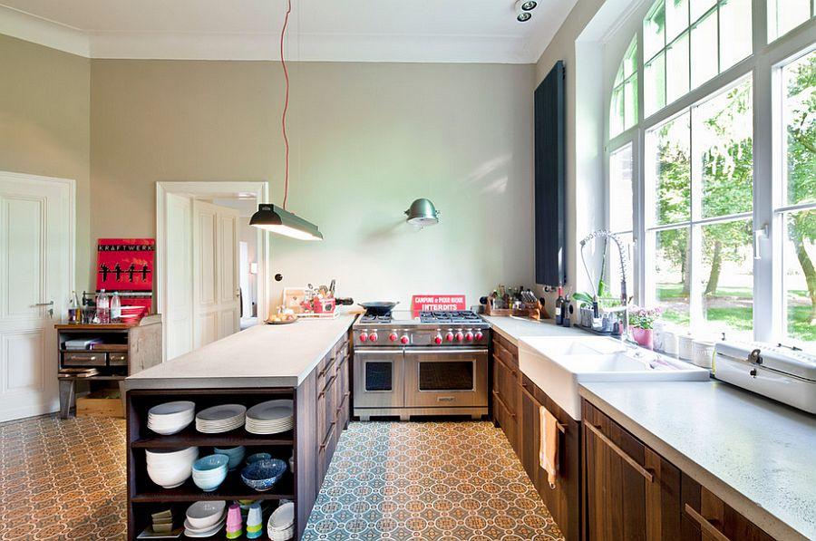 Кухня в индустриальном стиле - Фото 9