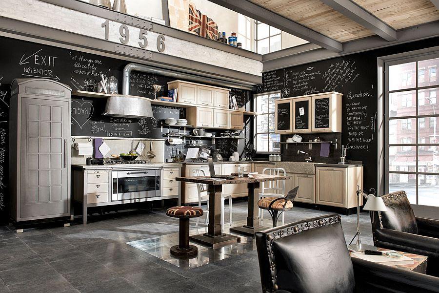 Кухня в индустриальном стиле - Фото 11