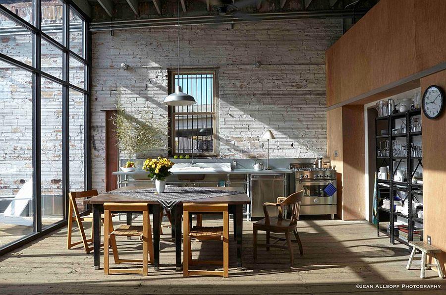 Кухня в индустриальном стиле - Фото 12