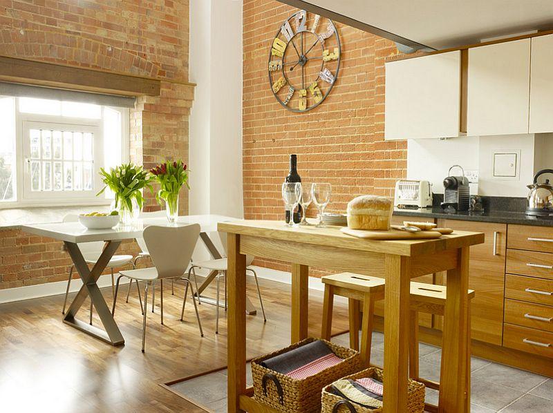 Кухня в индустриальном стиле - Фото 13