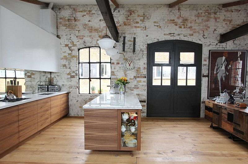 Кухня в индустриальном стиле - Фото 14