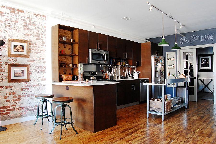 Кухня в индустриальном стиле - Фото 15