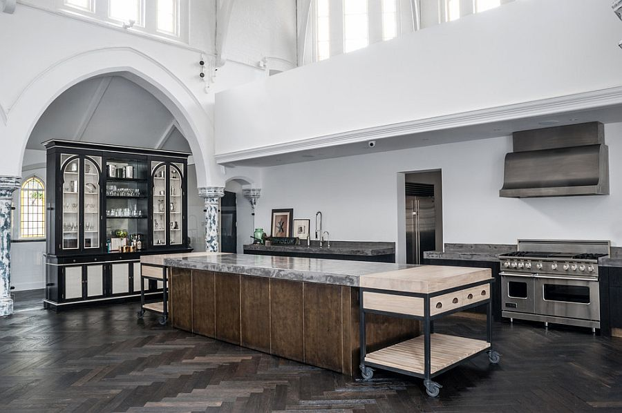 Кухня в индустриальном стиле - Фото 16