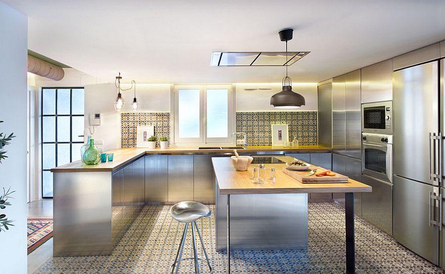 Кухня в индустриальном стиле - Фото 18