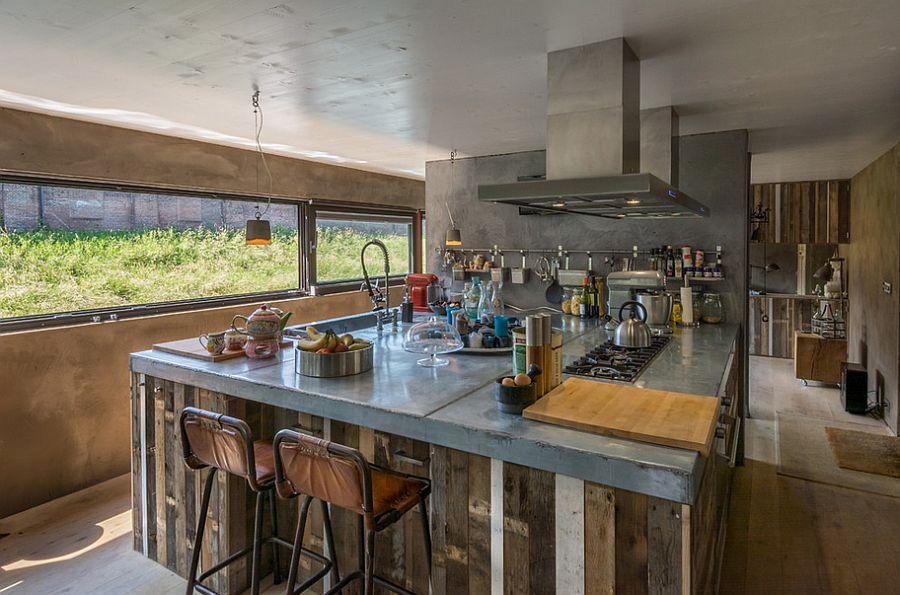 Кухня в индустриальном стиле - Фото 21