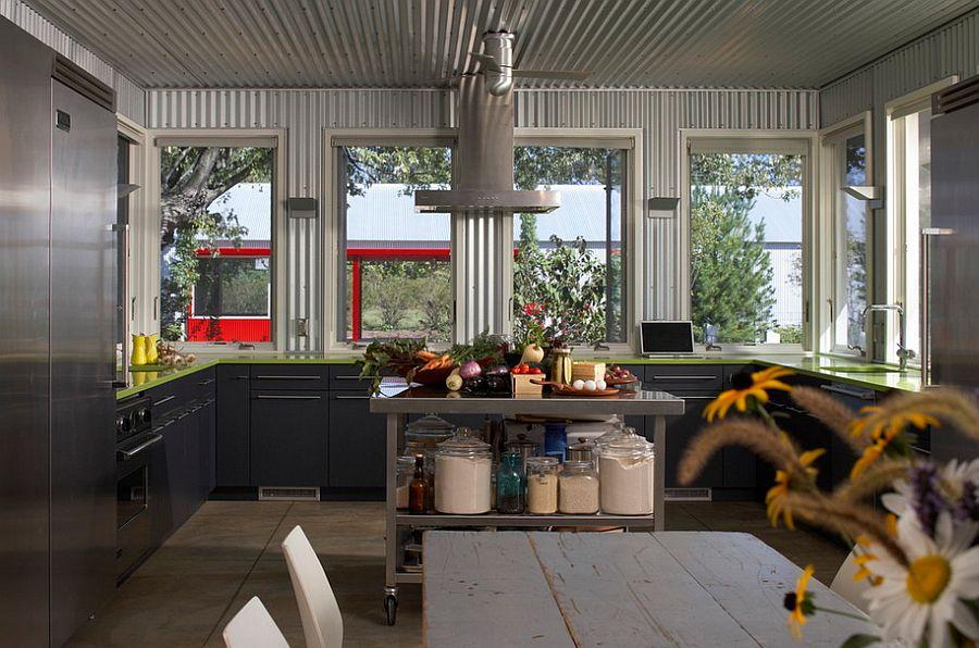 Кухня в индустриальном стиле - Фото 22