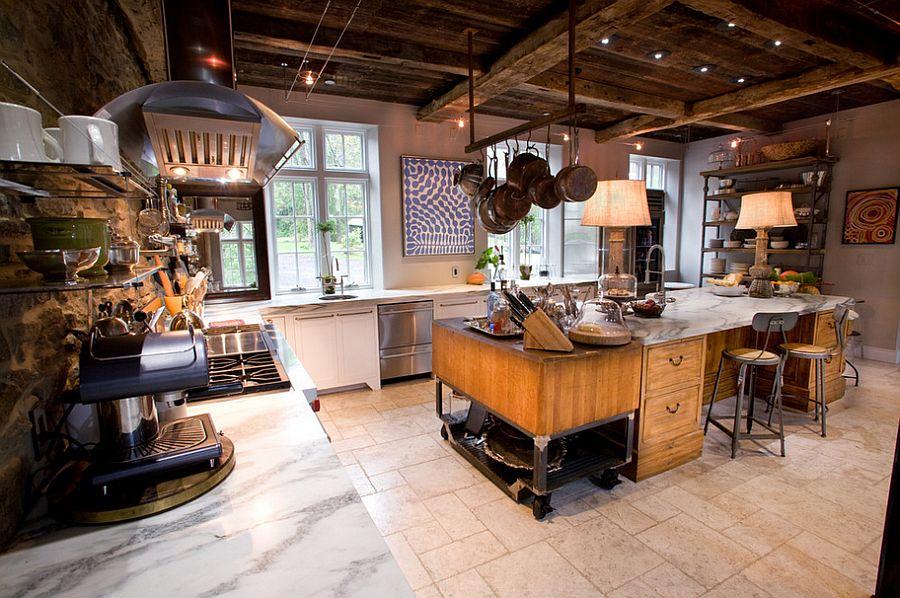Кухня в индустриальном стиле - Фото 23